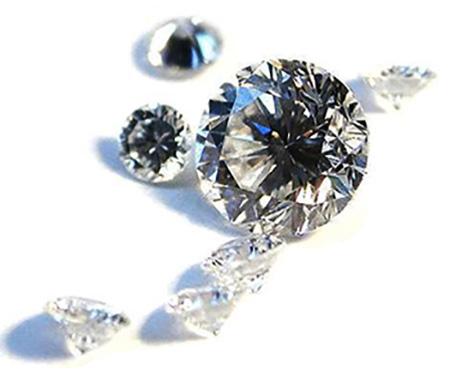 Diamant moissanite brillant