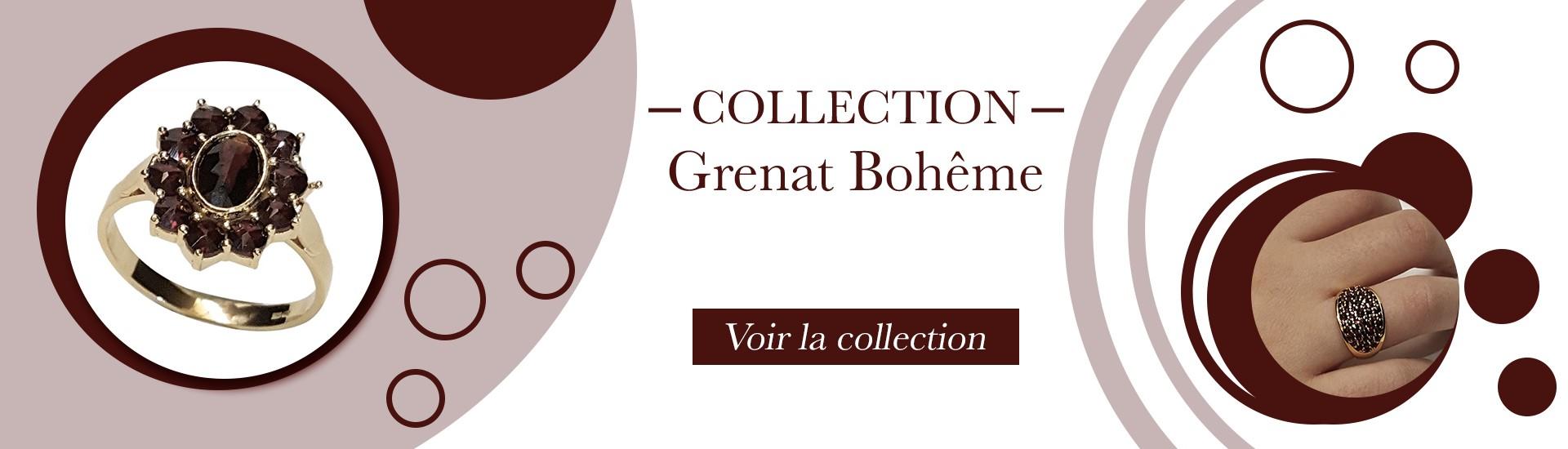 Collection Grenat Bohême
