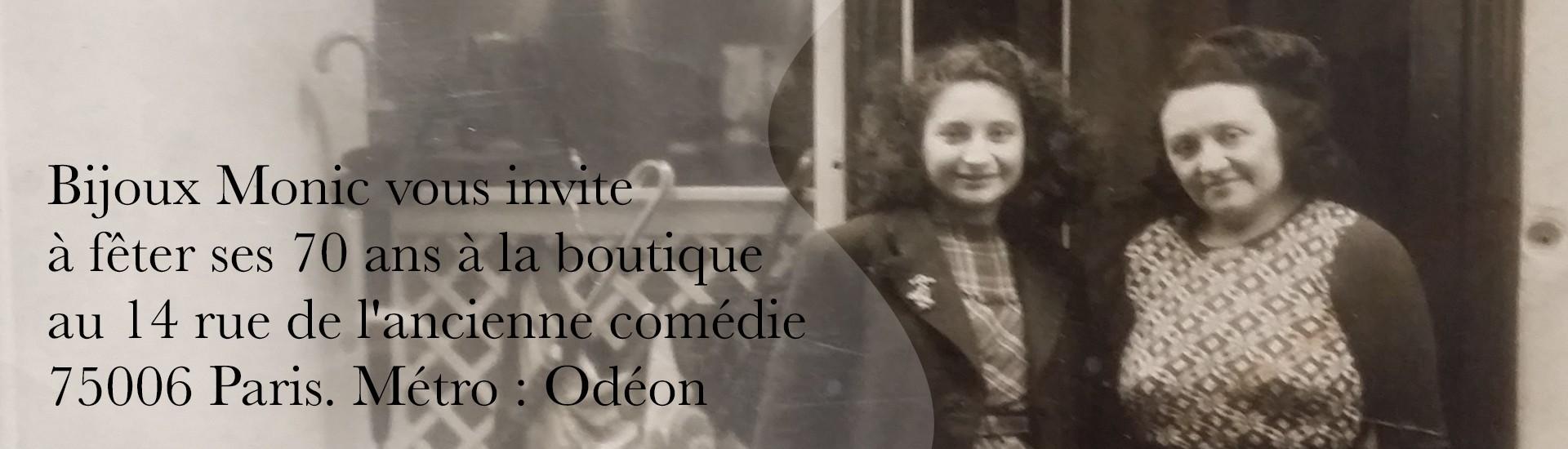 70 ans de Bijoux Monic
