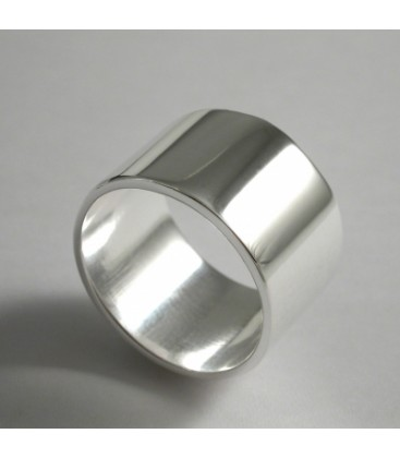 bague homme extra large
