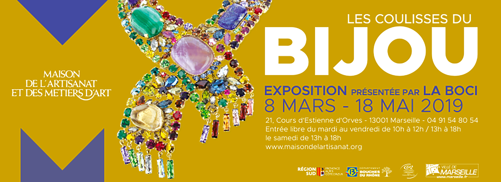 Exposition La Boci Marseille