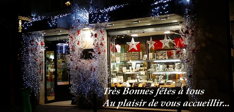 Noël chez Bijoux Monic